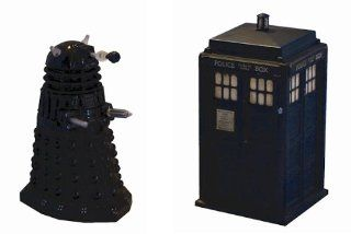 Doctor Who Dalek Sec & Tardis Mini Diecasts: Toys & Games