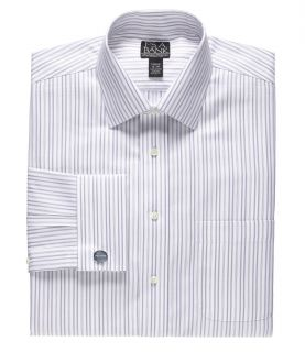 Signature Tailored Fit Spread Collar, French Cuff Dress Shirt by JoS. A. Bank Me