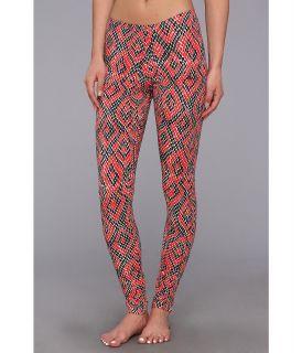 adidas Originals Python Graphic Leggings Womens Casual Pants (Orange)