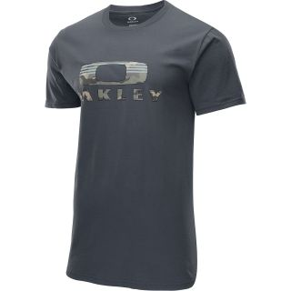 OAKLEY Mens Camo Nest Short Sleeve T Shirt   Size: L, Graphite