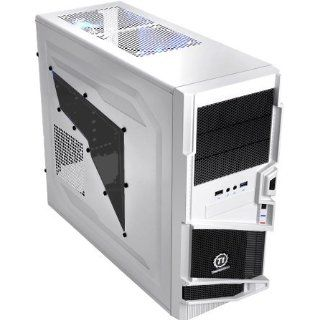 White/Black Thermaltake Commander MS I Snow Edition ATX Mid Tower SEC: Industrial & Scientific