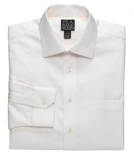 Signature Wrinkle Free Spread Collar Barrel Cuff Dobby Twill Dress Shirt JoS. A.