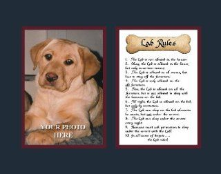 Dog Rules Lab Wall Decor Pet Gift Saying   Prints