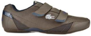 Lacoste Matsudo SEC USA SPM LTh Dark Brown/ Dark Blue Mens Fashion Sneakers 7 23spm32262j6 (11 M) Shoes