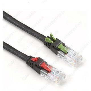 Black Box Cat 5e Sec/key Locking Cable One Each END 1ft Black Box Cat 5e Sec/key Locking Cable One Each END 1ft BB C5UR SK STR 001: Computers & Accessories