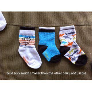 Robeez Organic Shark Socks, Multi, 0 6 Months Clothing