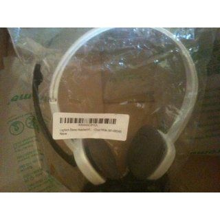 Logitech Stereo Headset H150   Cloud White: Electronics
