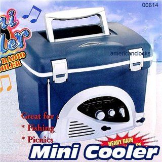 As Seen On TV Mini Cooler/AM/FM Radio : Patio, Lawn & Garden