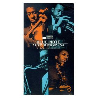 Blue Note   A Story of Modern Jazz [VHS]: Freddie Hubbard, Gil Melle, Herbie Hancock, Horace Silver, Carlos Santana, Johnny Griffin, Bertrand Tavernier, Ron Carter, Maurice Cullaz, Ruth Lion, Hans Borgelt, Brigitte Mira, Georg Steinweh, Andreas Morell, Jul