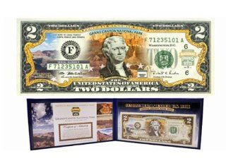 COMMEMORATIVE GRAND CANYON $2 DOLLAR BILL   AS SEEN ON TV! : Collectible Coins : Everything Else
