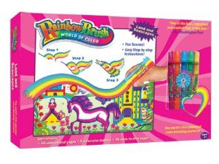 Rainbow Brush Land and seascape Markers   As Seen on TV: Kazi Ahmed: Toys & Games