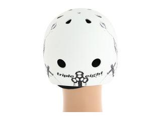 Triple Eight Brainsaver Multi Impact Helmet w/ Sweatsaver™ Liner Balloon Robot Light Rubber