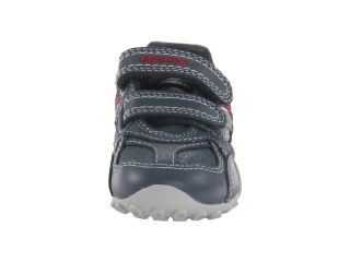 Geox Kids Jr Snake Boy 61 (Toddler/Little Kid) Navy/Red