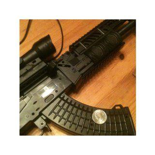 Spring Powered FPS 300 AK 47L RIS Assault Rifle Airsoft Gun with Bi Pod Airsoft Rifle : Sports & Outdoors