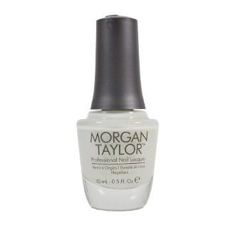 Morgan Taylor Nail Polish 50001 Heaven Sent .5oz : Personal Care Products : Beauty