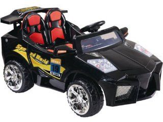 KIDS RIDE ON ELECTRIC BATTERY OPERATED SPORTS CAR   Mini Motos   12 Volt Super Car Electric Ride On Toy (BLACK OR YELLOW  COLOR SENT AT RANDOM): Everything Else