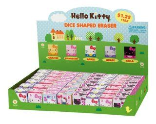 Japanese Sanrio Hello Kitty Cube Eraser: Assorted design, but only 1 (one) will be sent.: Toys & Games