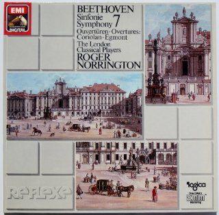 Beethoven: Sinfonie ~ Symphony 7 / Overturen ~ Overtures: Coriolan, Egmnot / The London Classical Players, Roger Norrington: Music