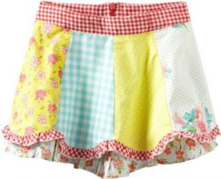 Room Seven Girls 2 6X Swing Skirt, Multi Color, 4: Clothing
