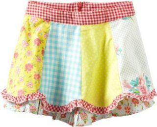 Room Seven Girls 2 6X Swing Skirt, Multi Color, 4 Clothing