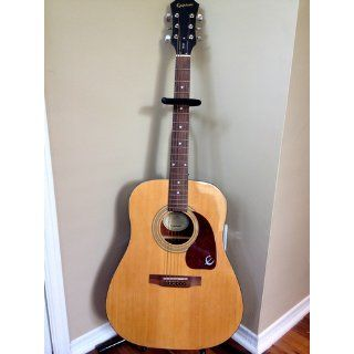 Epiphone PR 150 Acoustic Guitar Natural: Musical Instruments