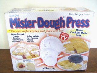 MISTER DOUGH PRESS, AS SEEN ON TV   Bakeware Accessories