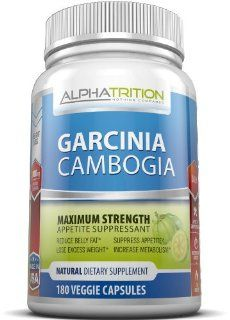 Garcinia Cambogia Extract Premium 3,000mg. Maximum Strength Appetite Suppressant & Fat Burner With HCA That Works For Men And Women. 180 Veggie Capsules. As Seen On TV. Health & Personal Care