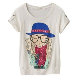 "Self Esteem Girls ""Girl"" Graphic Tee: Clothing"