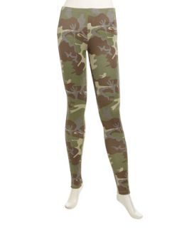 Camo Leggings, Green
