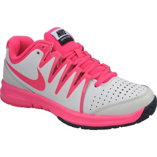 NIKE Womens Vapor Court Tennis Shoes   Size: 11, Ivory/pink