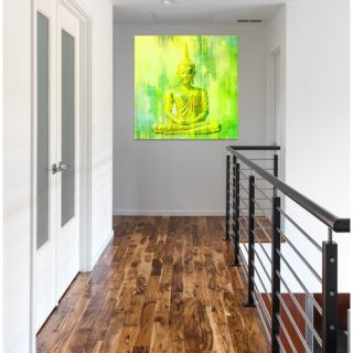 Buddha Painting Print on Wrapped Canvas by Oliver Gal