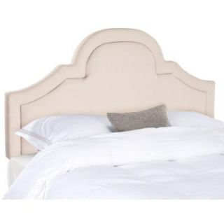 Safavieh Kerstin Taupe Arched Full Headboard in Taupe MCR4677C