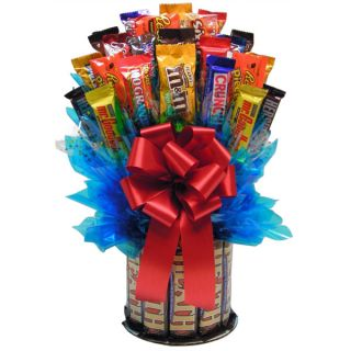 Heath N More Large Chocolate/Candy Bouquet