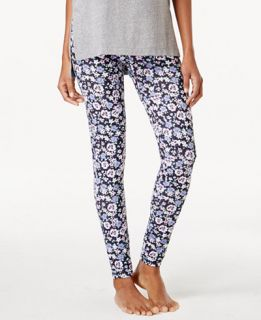 Jenni by Jennifer Moore Floral Print Leggings, Only at Macys   Bras