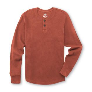 Roebuck & Co. Young Mens Thermal Henley Shirt   Clothing, Shoes