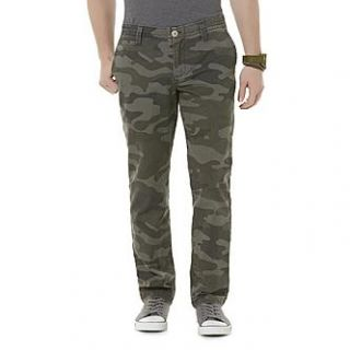 Roebuck & Co. Mens Chino Pants   Camouflage   Clothing, Shoes