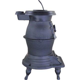 Vogelzang Cast Iron Pot Belly Stove — 75,000 BTU, Model# PB65XL