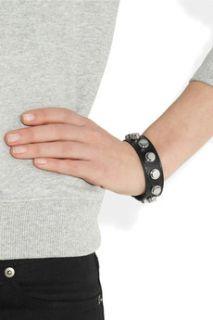Studded leather bracelet  Saint Laurent