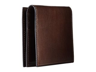 Bosca Old Leather Collection   Money Clip w/ Pocket Teak