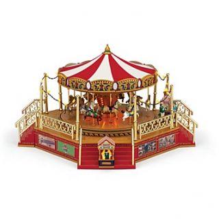 Mr. Christmas World's Fair Carousel with Boardwalk