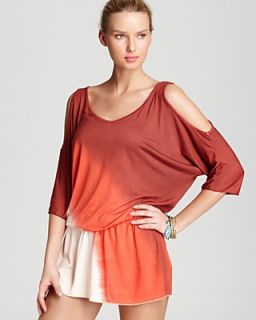 Debbie Katz Cover Up Dress   Short Dyed Jersey Modal