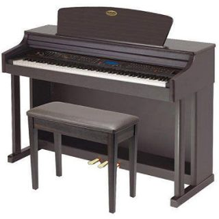 SUZUKI HP 99rw Upright Composer Ensemble Digital Piano with Matching Bench (Dark Rosewood finish)