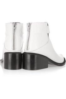 Schist leather ankle boots  Helmut Lang