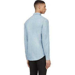 Saint Laurent Light Blue Chambray Shirt