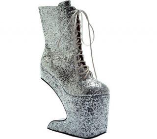 Womens Bettie Page Chablis   Silver Glitter