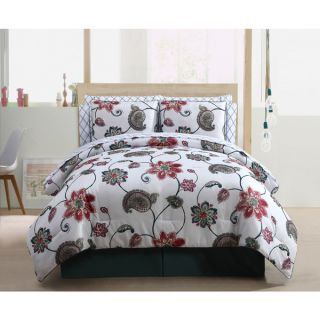 VCNY Adriana Reversible 10 Piece Bed in a Bag Comforter Set   17755991