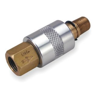 """ARO 1/2"""" Zinc Plated Carbon Steel Sleeve Valve with 3 Way, 2 Position Air Valve Type   Pneumatic Sleeve Valves   4EY62