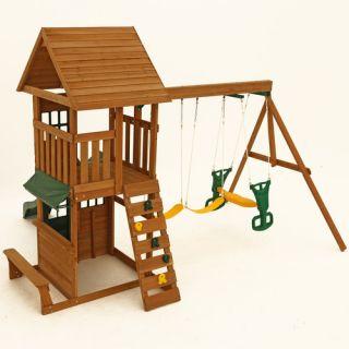 Big Backyard Windale Wooden Swing Set