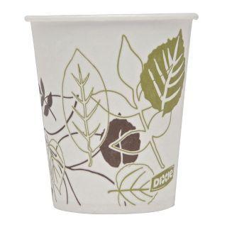 DIXIE Vaso Desechable para Frío, 5 oz, Papel con Revestimiento de Cera, Blanco, u. 1200   Tazas Desechables   15J133|58WS