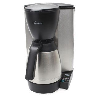 Capresso MT600 Plus Drip Coffee Maker   10 Cup, Thermal Carafe, Charcoal Water Filter 6831Y 34